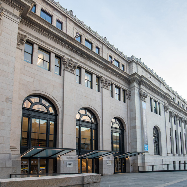 Moynihan Train Hall in New York City