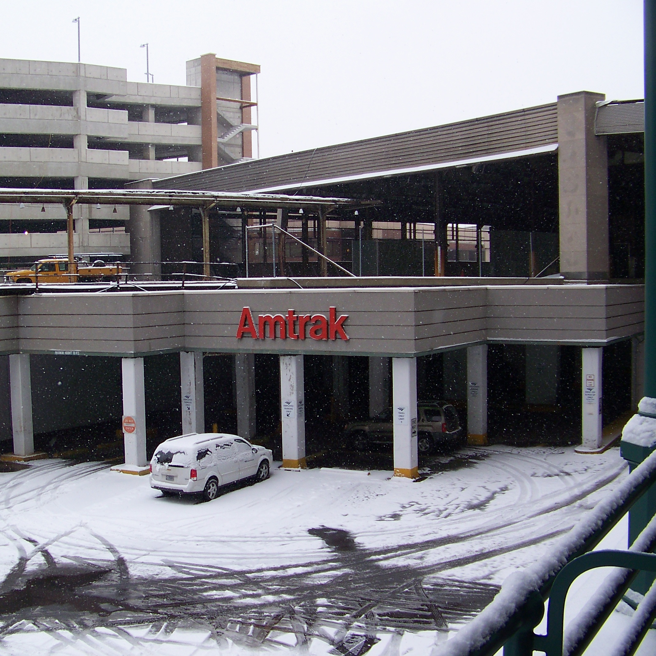Pittsburgh station entrance
