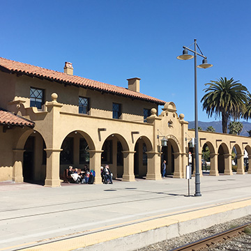 Santa Barbara, Calif., station.